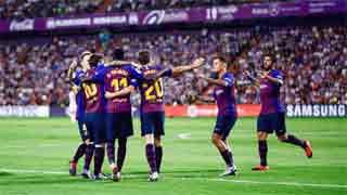 Barcelona, Atletico secure narrow wins
