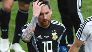 Messi misses penalty as Iceland hold Argentina