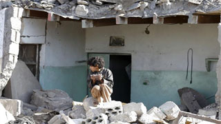 Yemen Air strikes kill 16 civilians