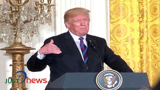 Trump hosts NATO Secretary General Jens Stoltenberg at White House