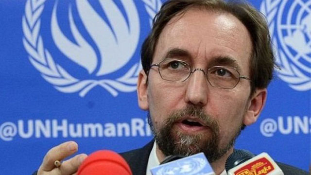 UN human rights chief toughens warning of 'genocide' in Myanmar