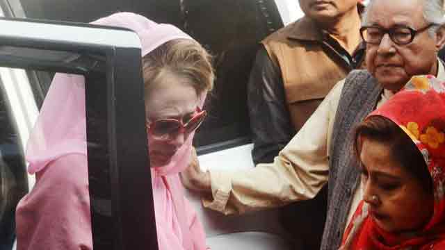 SC stays Khaleda Zia's bail