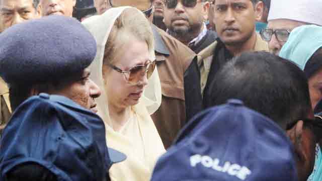 Khaleda Zia's bail remains suspended