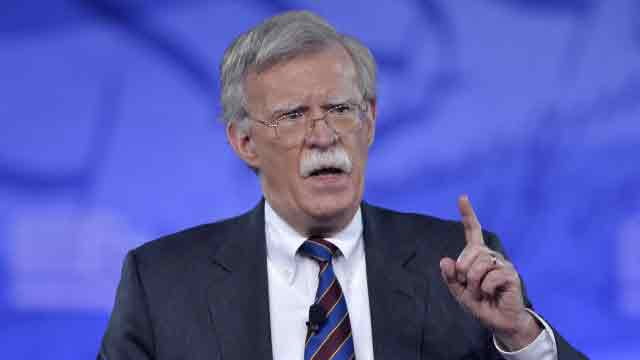 Widespread support for John Bolton as National Security Advisor