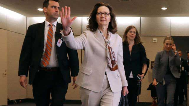 Gina Haspel made CIA's first female director