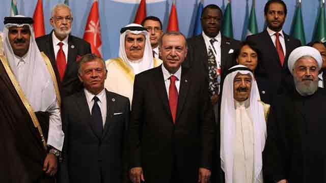 Erdogan calls on Muslim countries to unite and confront Israel