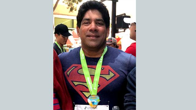 Bangladeshi origin Shuman shines in marathon run