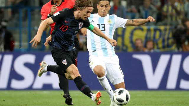 Croatia stun Argentina to reach Round of 16