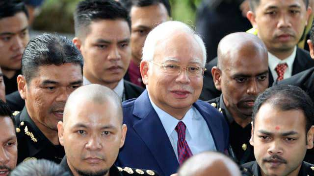 Najib Razak charged with corruption