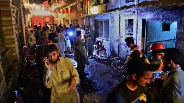 Suicide bombing kills 13 at Pakistan election rally