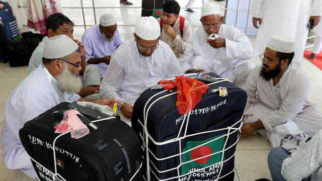 First Hajj flight leaves Dhaka