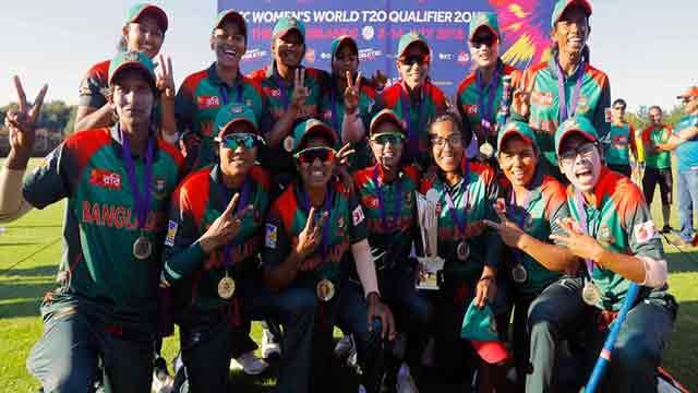 Bangladesh women top T20 qualifiers
