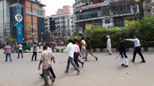 BCL men attack students in city
