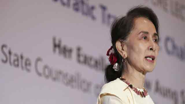 Speed of Rohingya return is up to Bangladesh: Suu Kyi