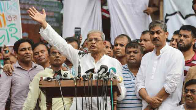 Forge national unity to restore democracy: BNP