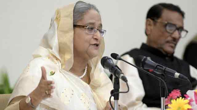 Hasina rules out scope of dialogue on polls