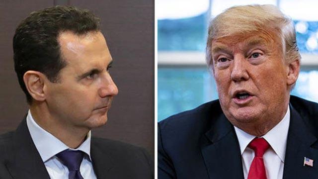 Trump denies discussing assassination of Assad