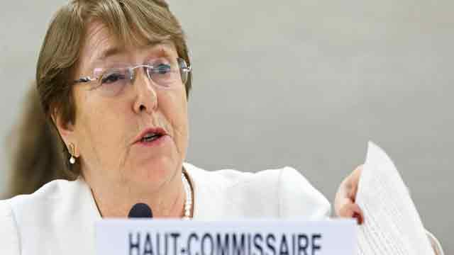 Bangladeshi protesters ill-treated: UN rights chief