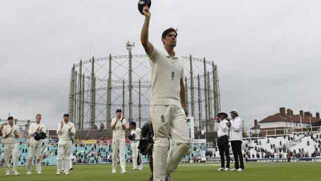 England win Cook's last Test