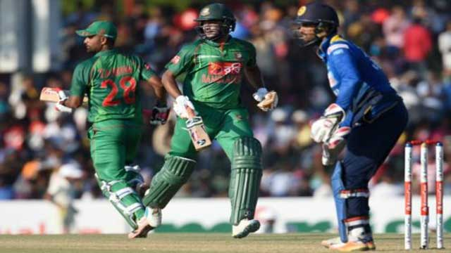 Bangladesh post 320/7 against Sri Lanka