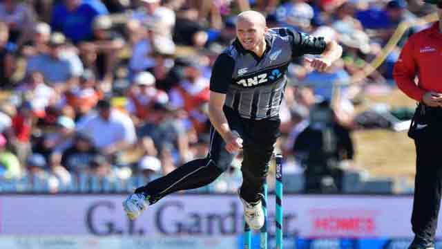 Debutant's double strike beats Windies in first T20