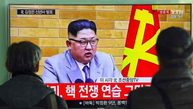 Nuclear button is on my desk, says Kim