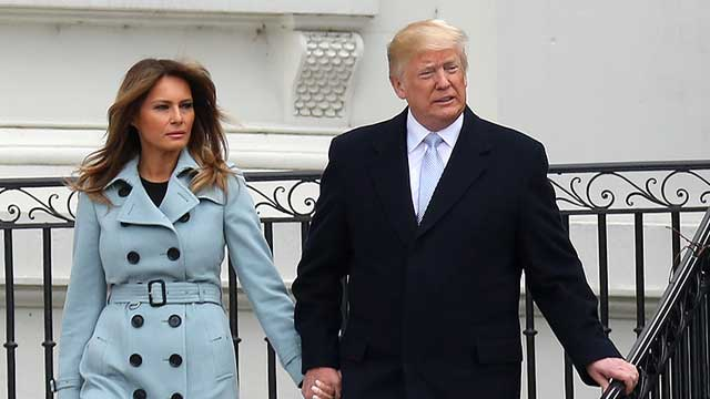 Melania Trump releases details for Trump administration's first state visit
