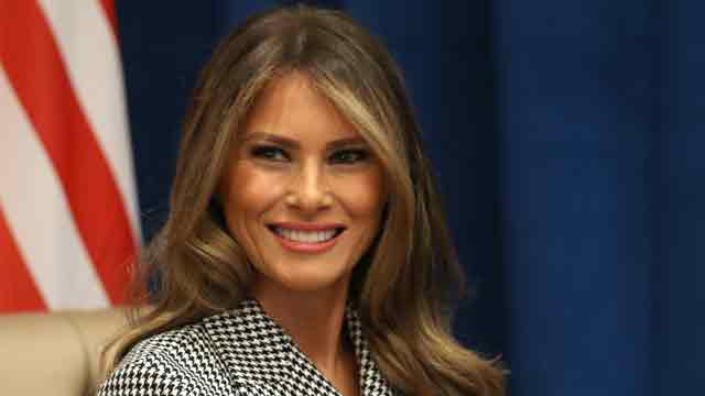 First Lady Melania Trump hospitalized