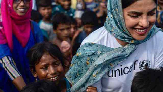 Priyanka laments Rohingya children's woes