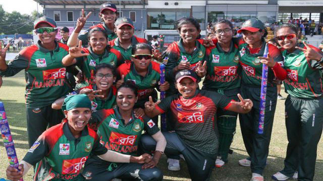 Tigresses win T20 series against Ireland