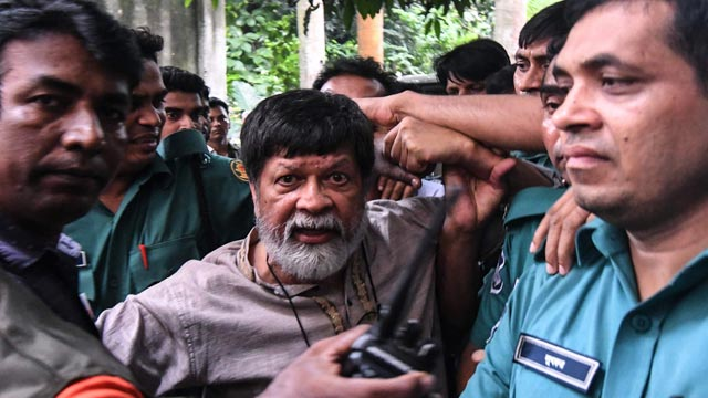 """Shahidul uses photography to challenge """"disappearances"""" of political opponents"""