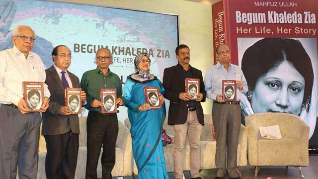Book on Khaleda Zia launched
