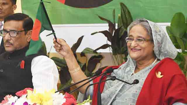 Hasina urges youths to be inspired with 1971 martyrs' attitude