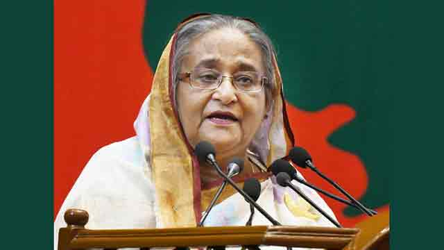 Anti-liberation forces will never be able to come to power, says Hasina