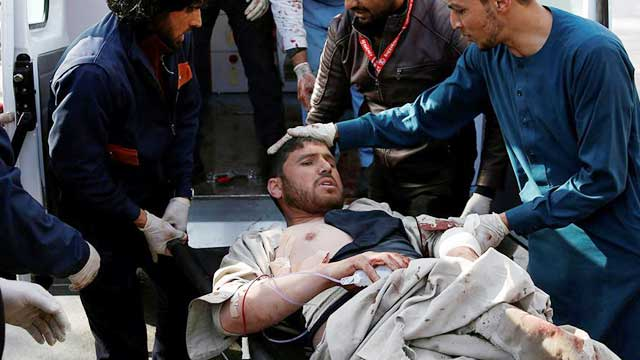 Ambulance bomb kills 95, wounds 158 in Kabul