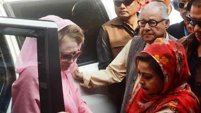 Political situation, cases against Khaleda Zia discussed