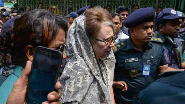 Police protection withdrawn from Khaleda Zia residence