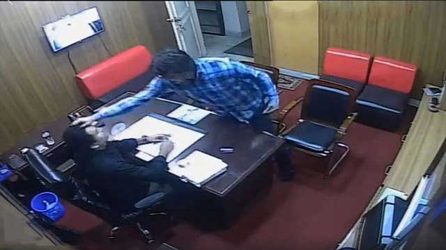 BCL leader assaults coaching centre owner, video goes viral