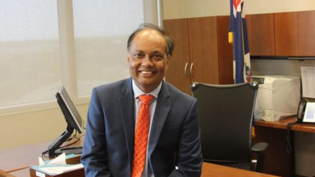 Anwar Chy suspended as Cayman Islands governor