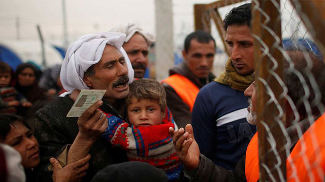 Record 68.5m people displaced worldwide: UN