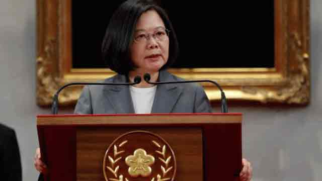 China out of control: Taiwan