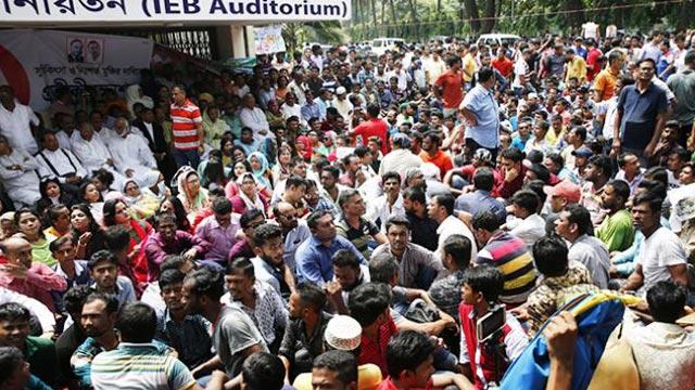 BNP's hunger strike ends demanding resignation of govt