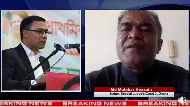 Judge faced death threat for not convicting Opposition Leader Tarique Rahman