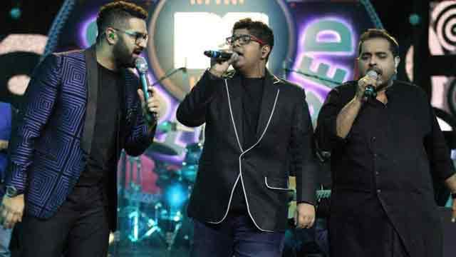 Shankar Mahadevan sings with sons for MTV Unplugged
