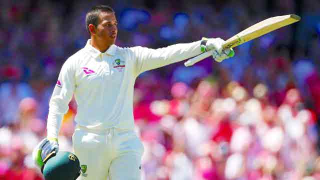 Khawaja ton propels Australia to take lead in Sydney