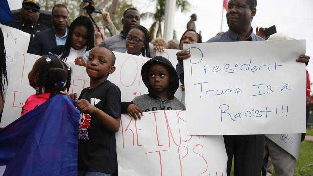 African countries demand Trump apology