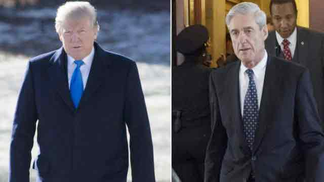 US President denies trying to fire Robert Mueller