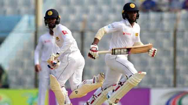 Sri Lanka pile on the runs and eye big lead