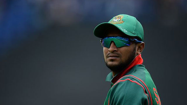 Shakib ruled out of Sri Lanka tour