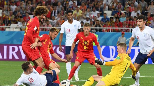 Belgium pip England to top spot
